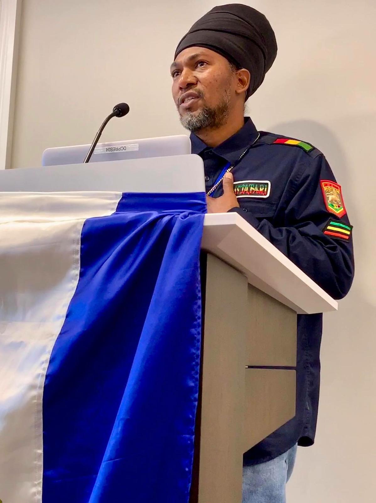 Ariel Hamilton, Representante del Gobierno Comunal de Bluefields. Foto: Cortesía