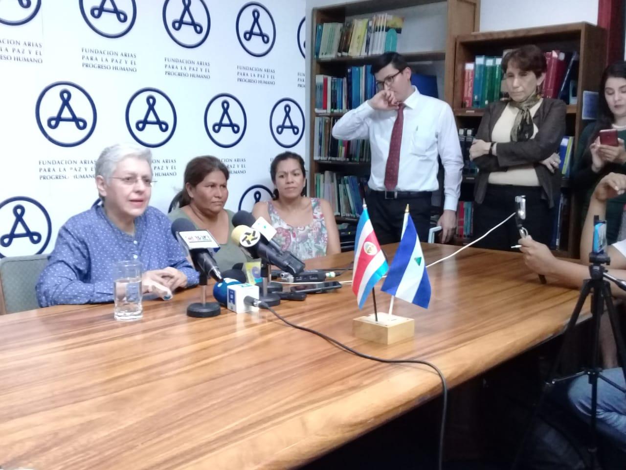 Ana Quirós denunciará a nivel internacional las serias violaciones de derechos humanos tras ser deportada a Costa Rica. Foto: Josué Garay