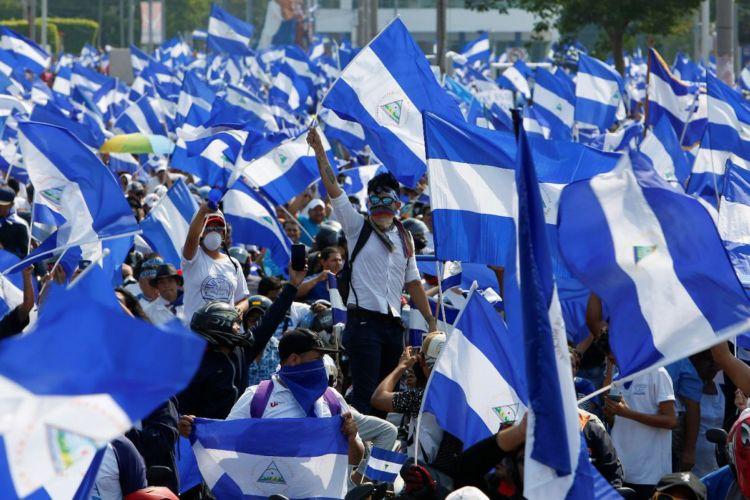 UNAB solicita autorización a Policía orteguista para marchar este domingo. Foto/LaPrensa