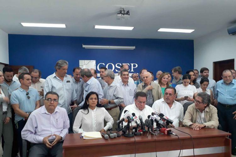 COSEP demanda a la Policía orteguista cumplir obligaciones constitucionales y permitir protestas cívicas. Foto/LaPrensa