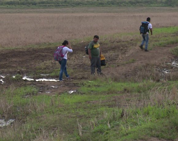 Estos son algunos puntos ciegos por donde se van los nicaragüenses que huyen de la represión de Ortega. Foto: Tomada de Internet
