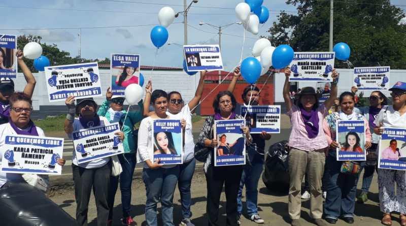 Organizaciones feministas condenan ataque perpetrado contra presas políticas en La Esperanza. Foto: Cortesía