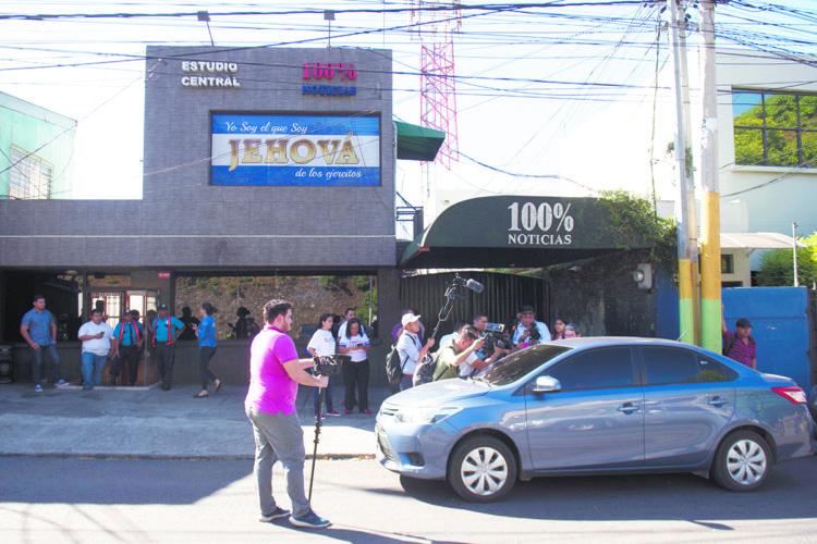 Telcor ordena retirar del aire a 100% Noticias. Foto: Jader Flores/ LA PRENSA
