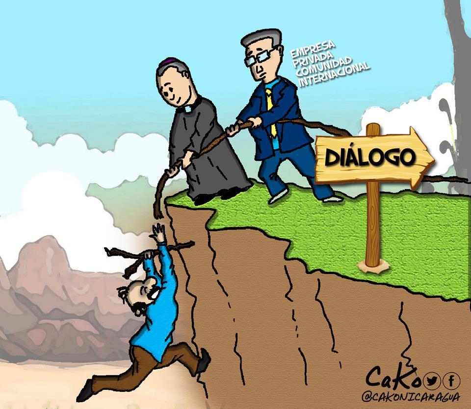 La Caricatura: Ortega se queda sin salida. CaKo/Artículo66