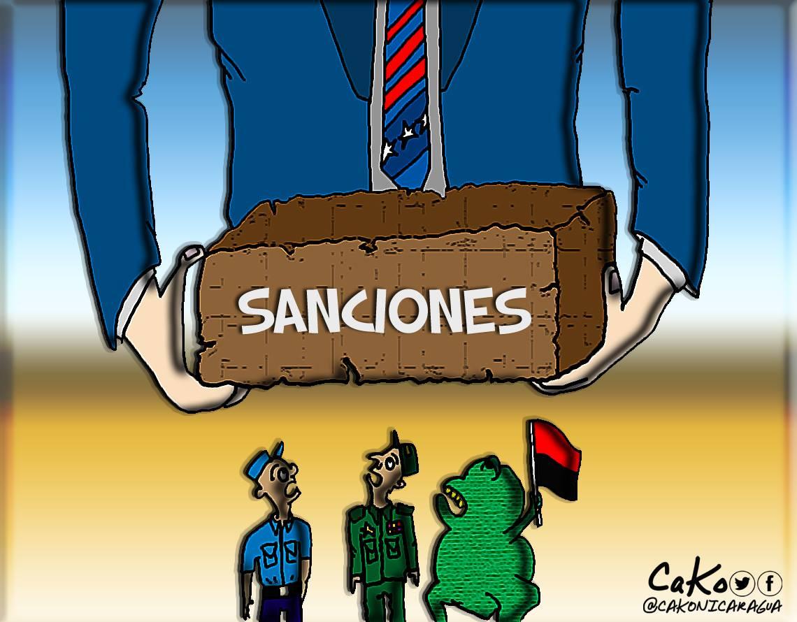 El imperio les va a sacar el dedo en la cara. CaKo/Nicaragua