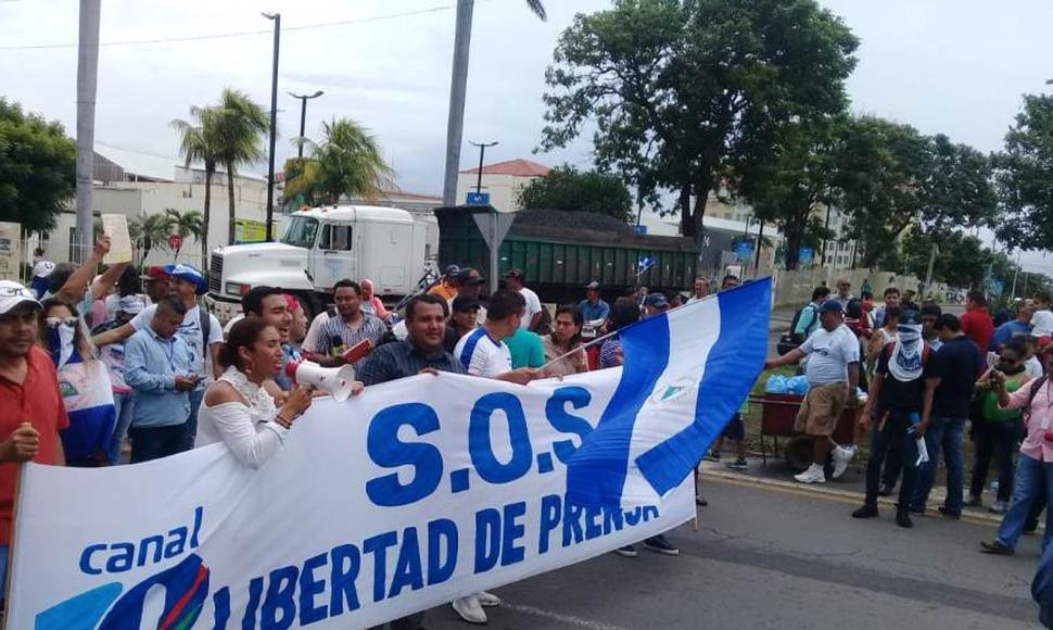 Reporteros Sin Fronteras hace una llamada urgente al Secretario General de la ONU para que intervenga en Nicaragua. Foto/END