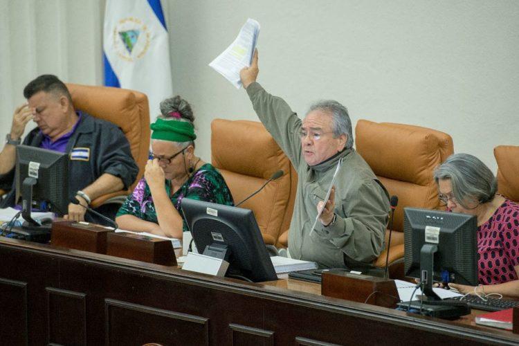 Asamblea orteguista. Foto: La Prensa
