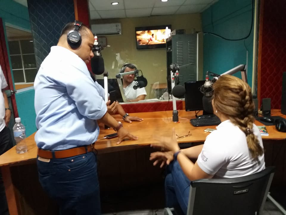 Policía de León saquea instalaciones de Radio Darío y secuestran a cuatro periodistas. Foto: Cortesía