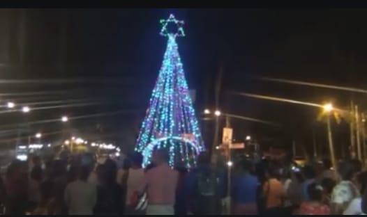 """Orteguismo intenta vender """"normalidad"""" iluminando con luces navideñas Masaya, uno de los bastiones de resistencia de Nicaragua"""