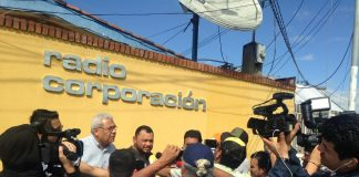 Periodistas y Comunicadores Independientes de Nicaragua condenan agresiones contra la prensa nicaragüense. Foto: Cortesía