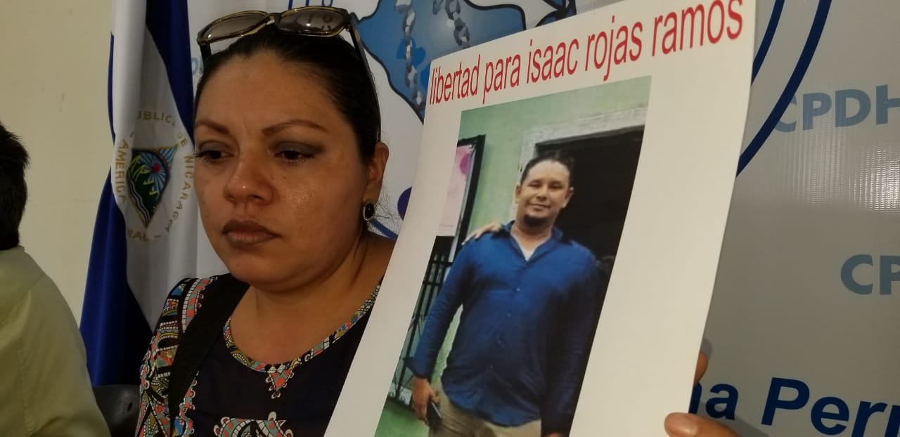 Jessenia Gómez, esposa de Isaac Rojas. Foto: Álvaro Navarro