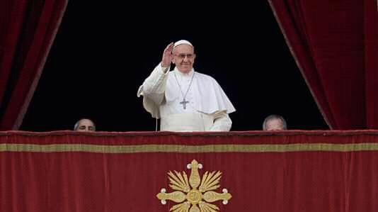 Papa Francisco pide a los nicaragüenses que se avance hacia la reconciliación. Foto: Cortesía