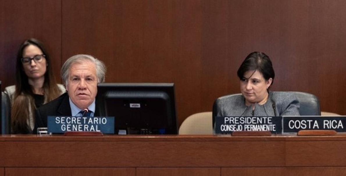 Costa Rica recibe solicitud de Almagro para activar Carta Democrática a Nicaragua. Foto: Cortesía
