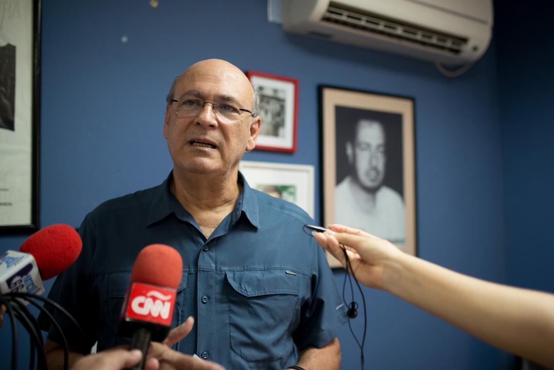 «La trayectoria de mi familia se defiende por si sola. Ortega y Murillo no pueden defender la suya», dice Carlos Fernando Chamorro. Foto:Confidencial