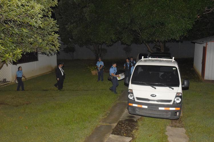 Managua,Nicaragua 27 de Septiembre 2018 Policia Nacional allana el Instituto de Estudios Estrategicos y Politicas Publicas, Ieepp.LAPRENSA/Roberto Fonseca