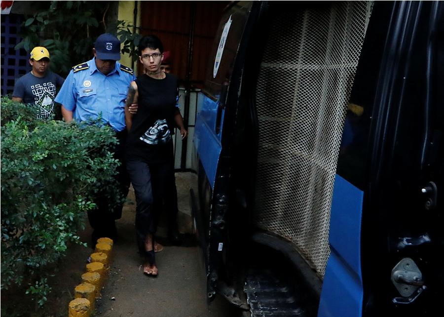 """Arman plan para declarar """"loca"""" a la rusa que atacó con ácido a sacerdote. Foto: Oscar Sánchez/END"""