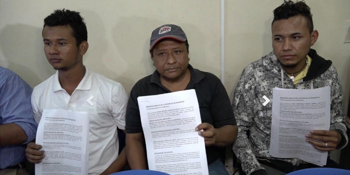 Testigos contra Miguel Mora. Foto: canal 13.
