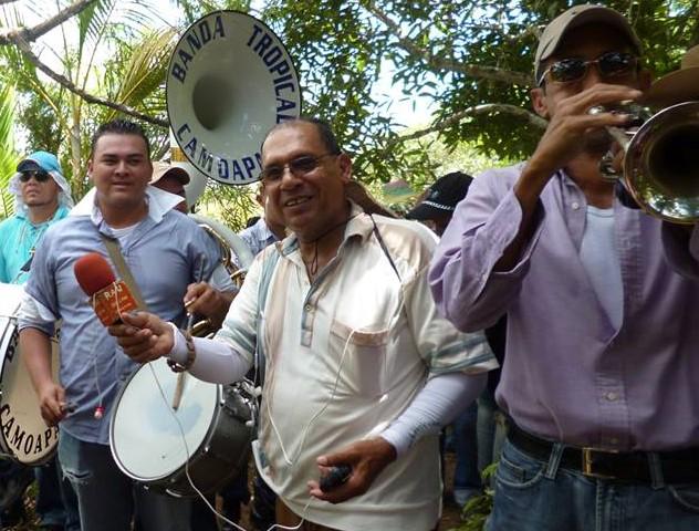 Rafael Aguilera, director de Radio Alegre Única. Foto: Tomada de Facebook.