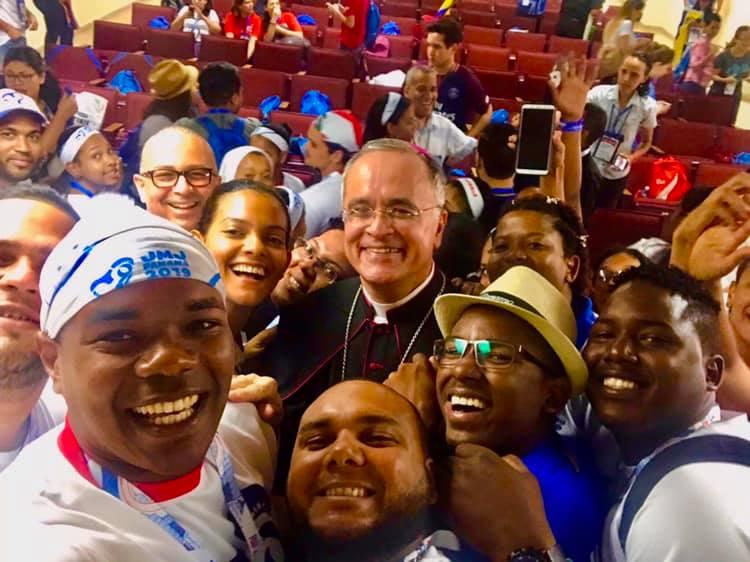 Monseñor Silvio Báez: «Lo que nos va a decir el Papa Francisco nos va a ayudar a todos». Foto/S.Báez