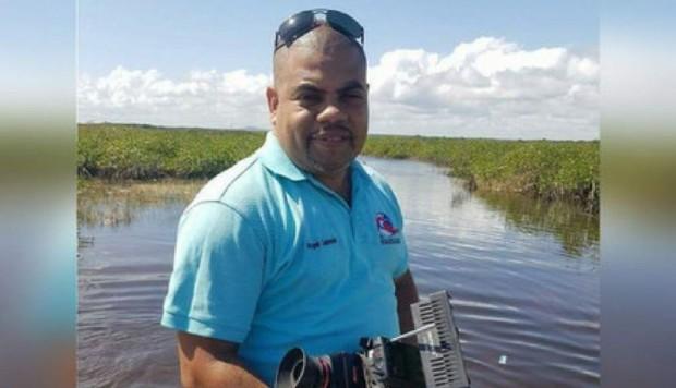 El periodista Ángel Gahona, fue asesinado mientras realizaba su trabajo en Bluefields.