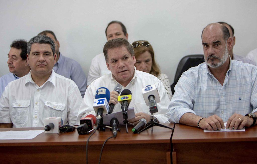 """Empresarios rechazan acusaciones de """"golpistas"""" que les hace la dictadura de Ortega. Foto: Confidencial"""