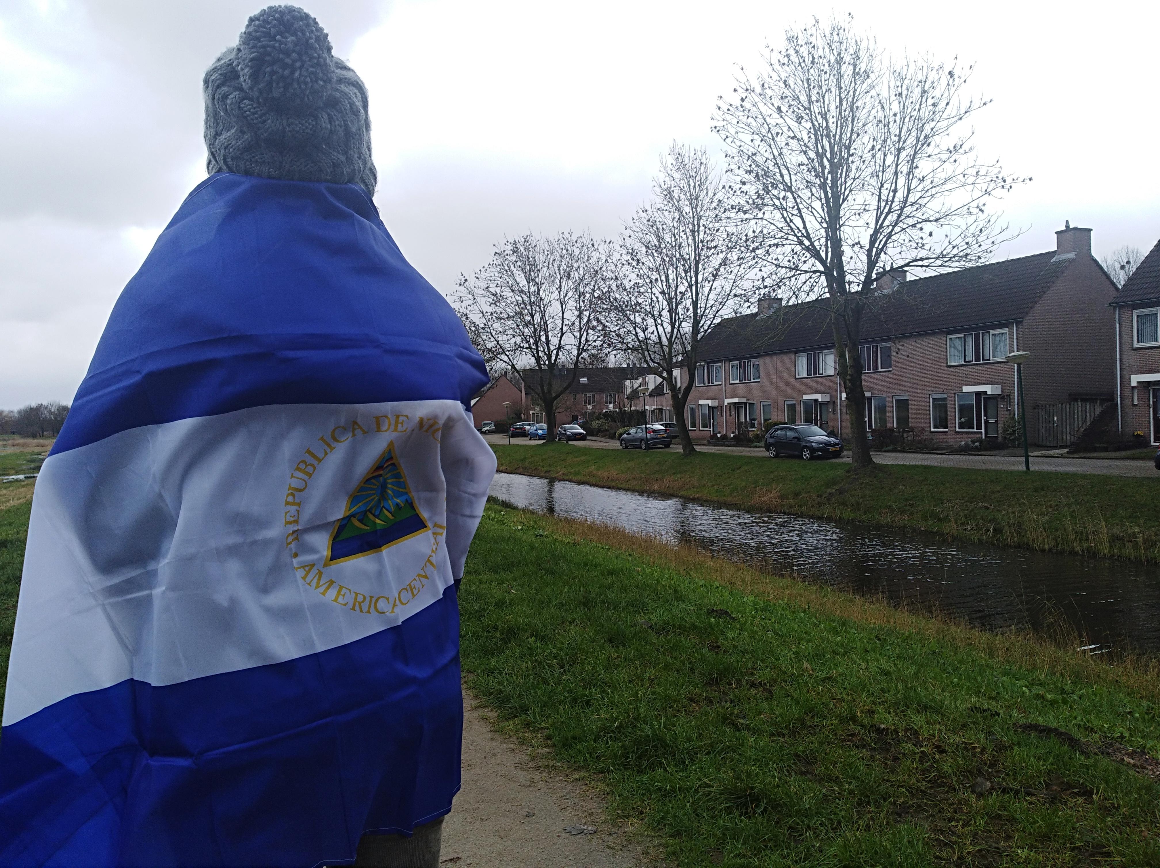 Sobreviviente de masacre orteguista en la Divina Misericordia pide asilo en Holanda. Foto: Loanny Picado/Artículo 66