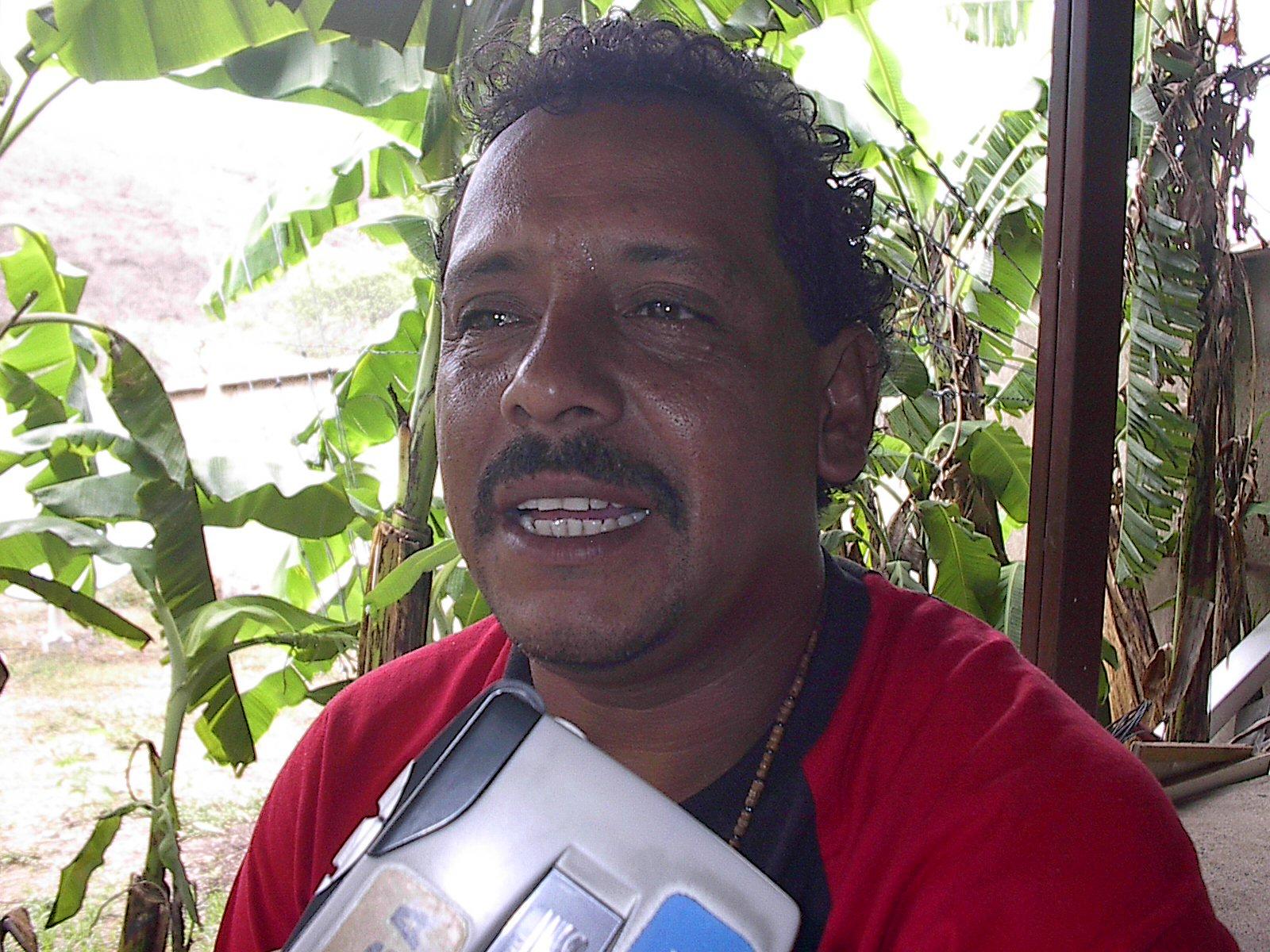 Este es el diputado orteguista, Nery Nelson Sánchez Lazo, quien amenazó de muerte al periodista de La Prensa, en Madriz, William Aragón. Foto: Cortesía