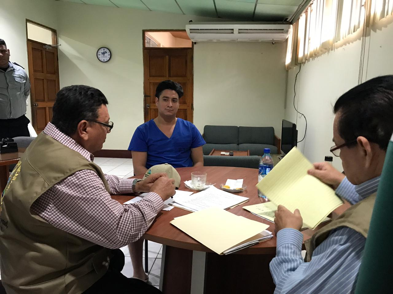 "Comisión Porras de visita en sistema penitenciario de Tipitapa, conocido como ""La Modelo"""