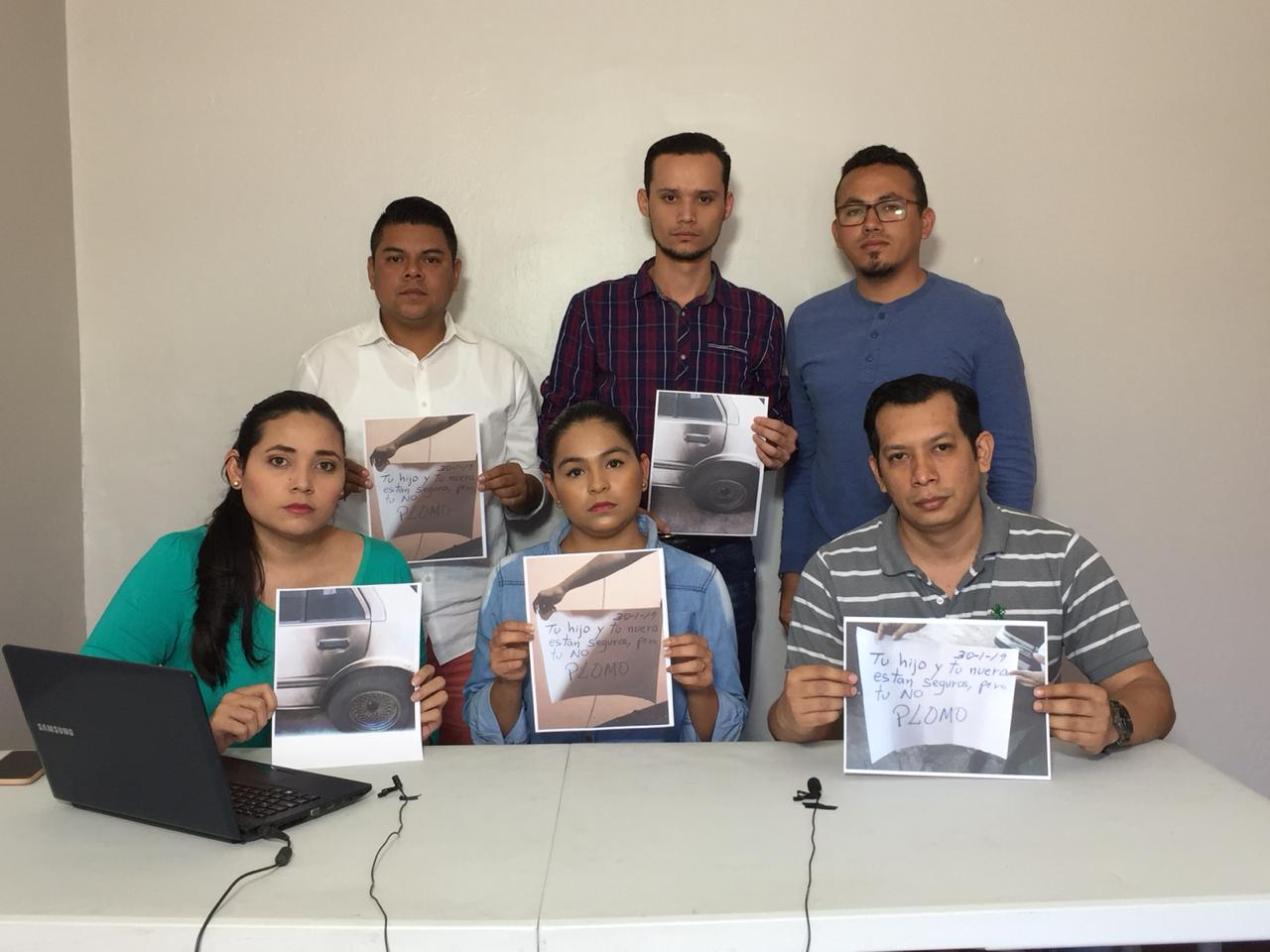 Equipo de Nicaragua Investiga. Foto: Cortesía.