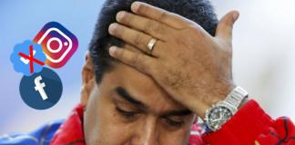 Tampoco Facebook e Instagram reconocen a Nicolás Maduro