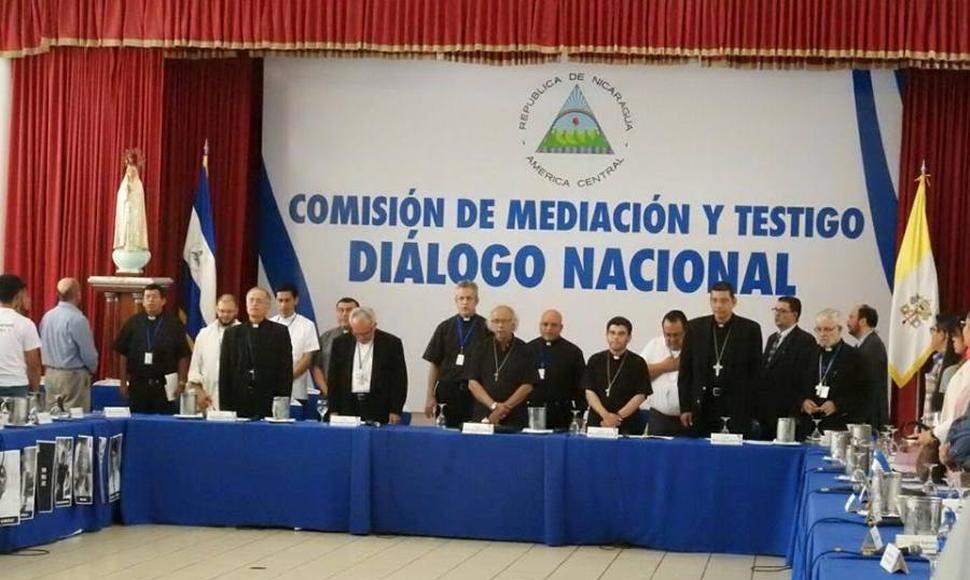 Unidad Nacional solo acepta como mediadores del diálogo a la Conferencia Episcopal. Foto/END