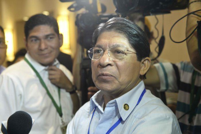 Canciller orteguista Denis Moncada, llama golpista y traidor a Luis Almagro. Foto/LaPrensa
