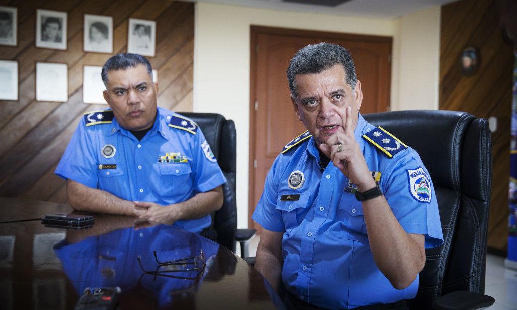 Comisionado Francisco Díaz: «No he violado ningún derecho humano». Foto/Henning Lillegård