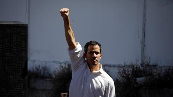Juan Guaidó. Foto: Tomada de la web.