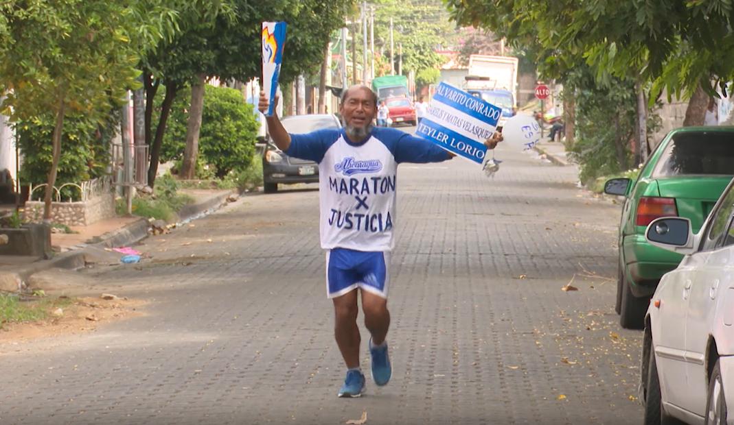 Liberan a Maratonista Axel Vanegas