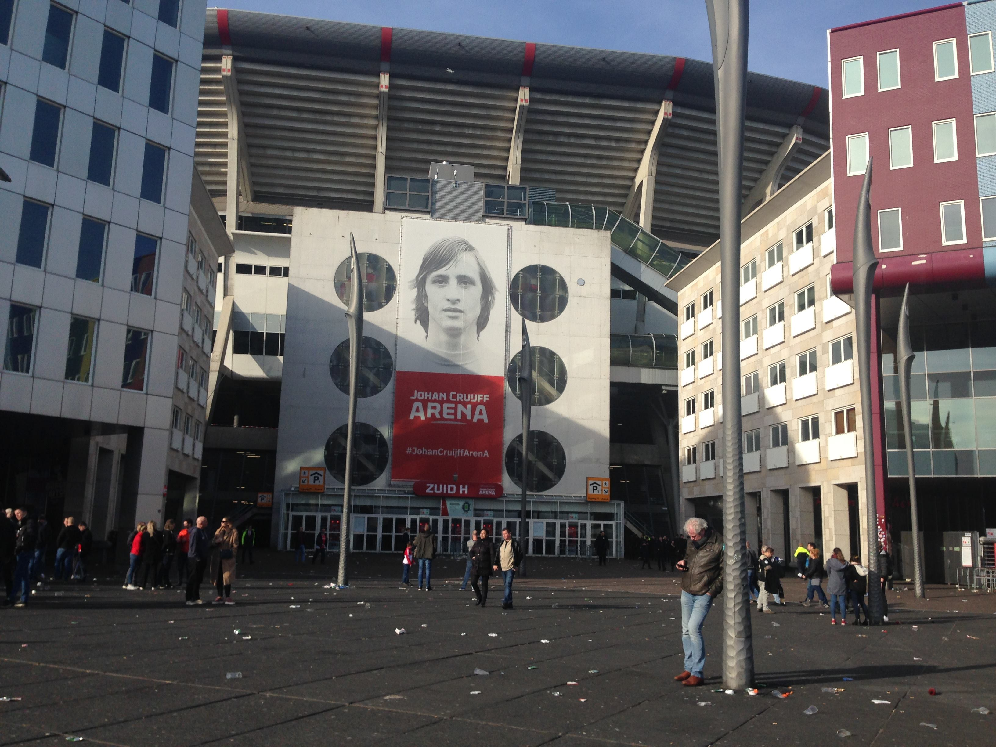 La casa del Ajax es un homenaje completo a Cruyff. Foto/L.Picado