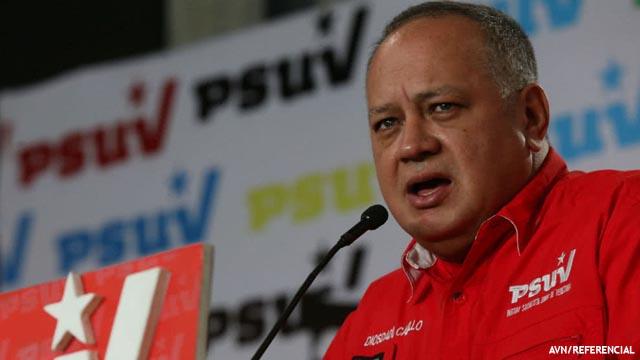 Jefe chavista de Asamblea Constituyente amenaza con «guerra irregular» en Venezuela. Foto/AVN