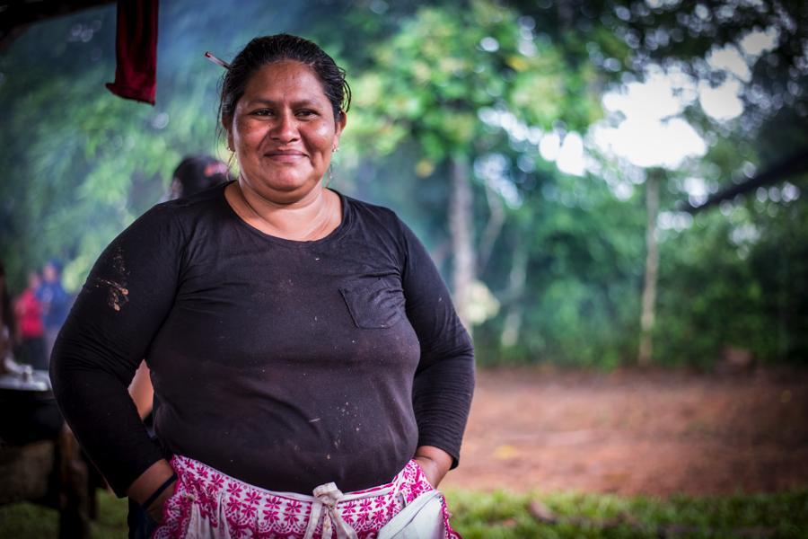 Francisca Ramírez recibirá premio internacional de los derechos humanos Homo Homini. Foto : La Prensa.