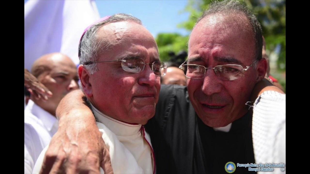 Iglesia condena agresión de policías orteguistas contra padre Edwin Román. Foto: Cortesía/ilustrativa