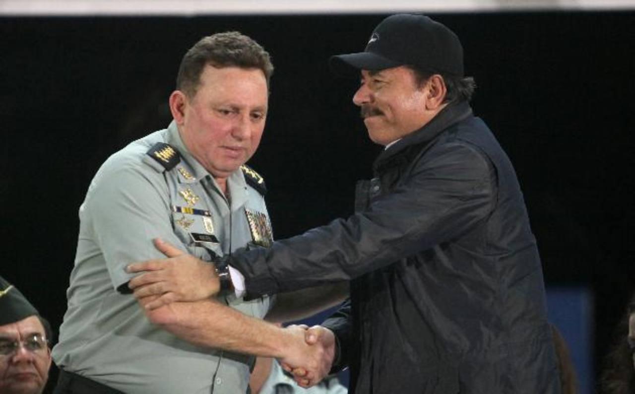 Sanciona al jefe del Ejército de Nicaragua y a ministro de Hacienda