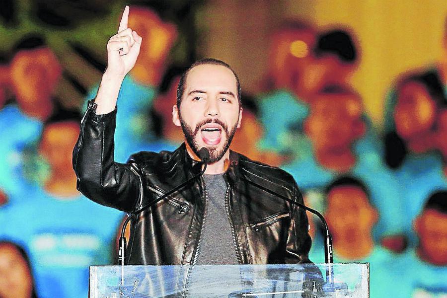 Nayib Bukele aplasta al bipartidismo en El Salvador y Ortega se va quedando solo. Foto: tomada de Internet