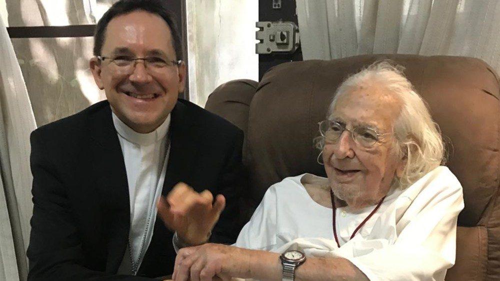 Vaticano confirma reintegración del padre Ernesto Cardenal al ministerio sacerdotal. Foto: Cortesía/ Portal de noticias de la Santa Sede Vatican News