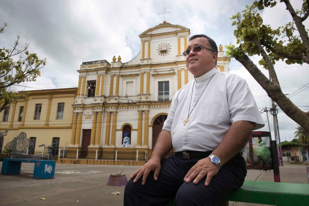 """Padre Augusto Gutiérrez: """"Arzobispo Brenes intenta desdramatizar"""" situación de sacerdotes exiliados. Foto: La Prensa."""