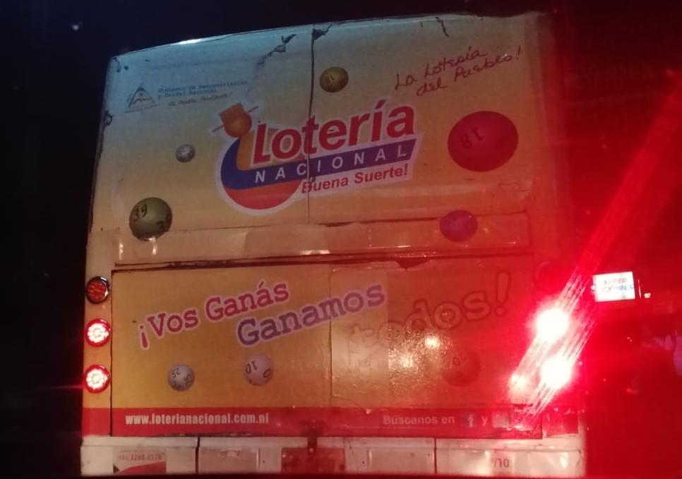 Ruta 105 de la capital. Foto: María Gómez/ Artículo 66