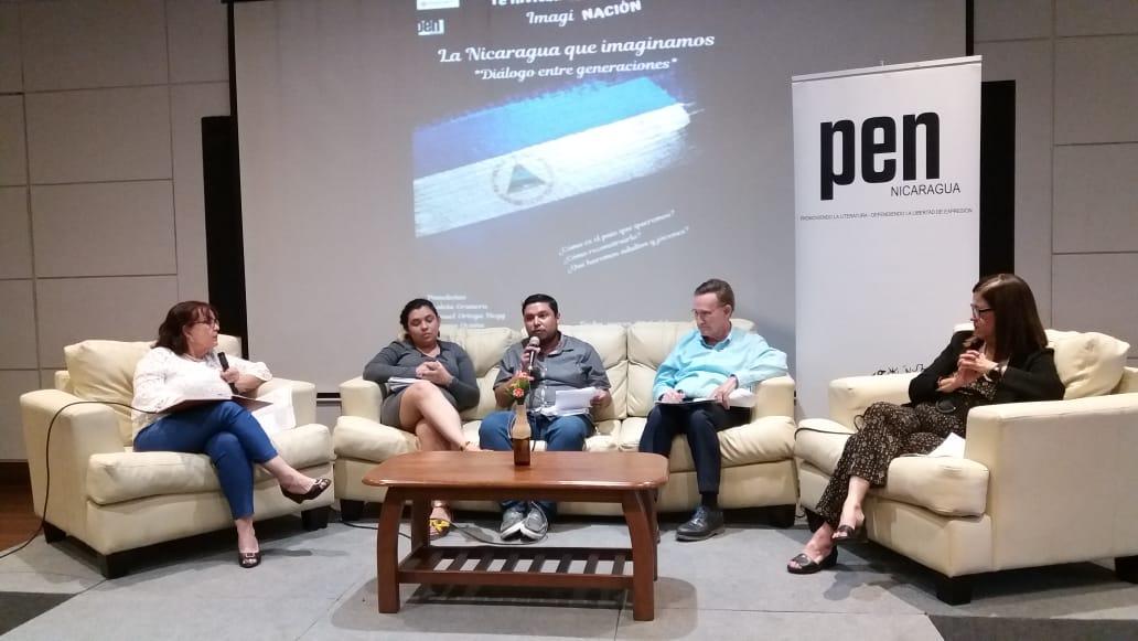"""Proponen un diálogo intergeneracional para alcanzar """"la Nicaragua que imaginan"""" . Foto: María Gómez/Artículo 66"""