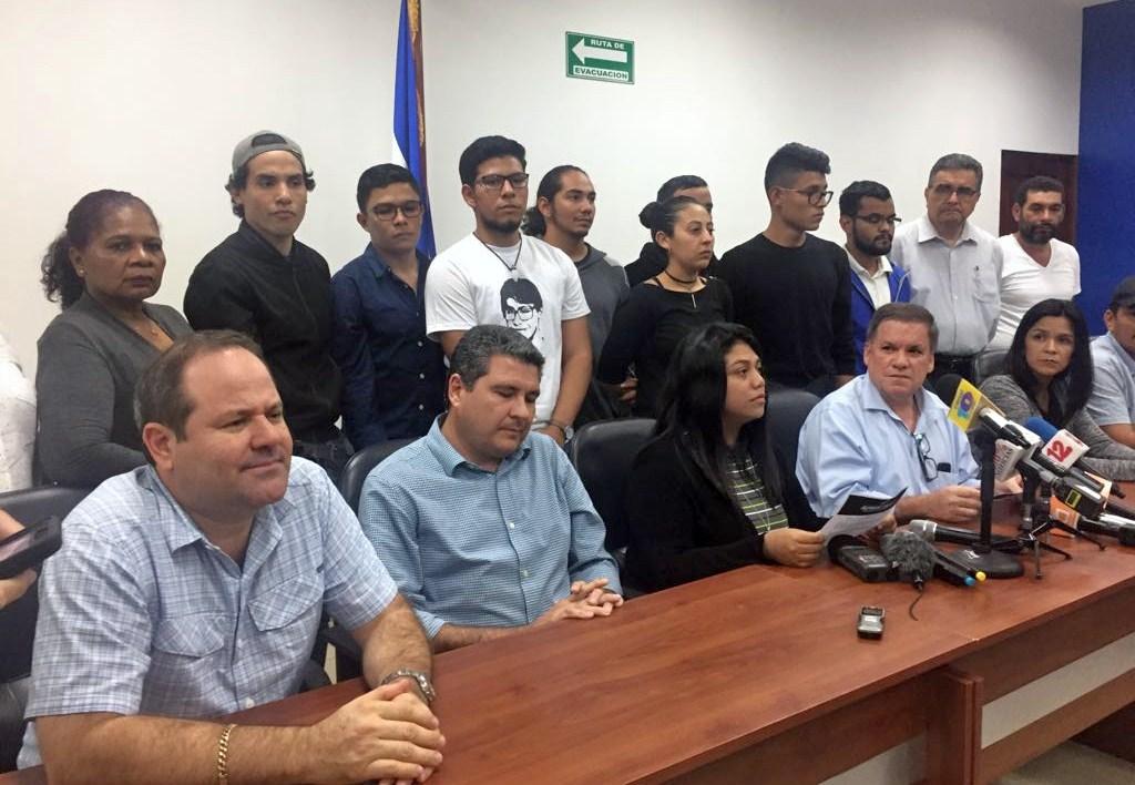 Alianza Cívica presenta a su comisión que dialogará con Daniel Ortega. Foto: La Prensa