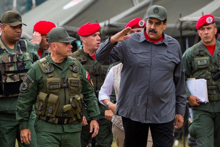 John Bolton: EEUU está considerando «eximir de sanciones a militares que apoyen a Guaidó». Foto/EFE