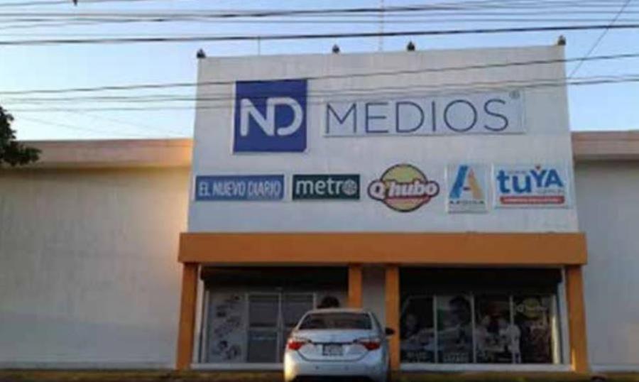 El Nuevo Diario forzado a reducir cantidad de paginas por retención de material. Foto: El Nuevo Diario.