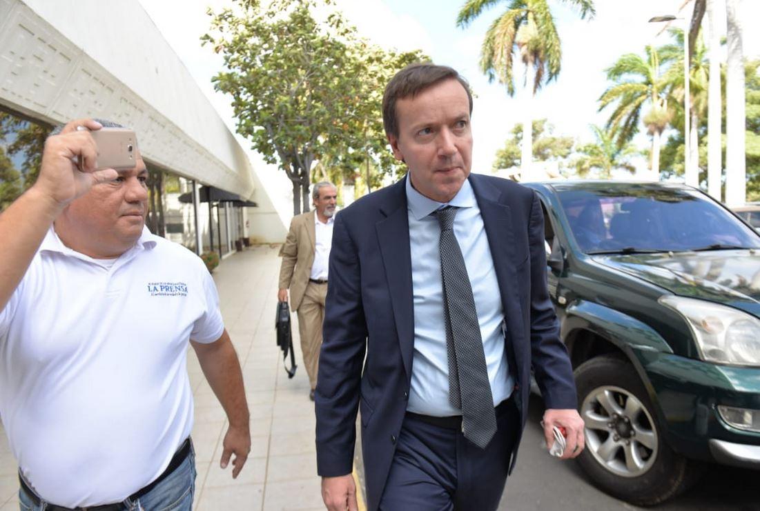 Jefe de gabinete de Luis Almagro llega a Nicaragua. Foto: La Prensa.