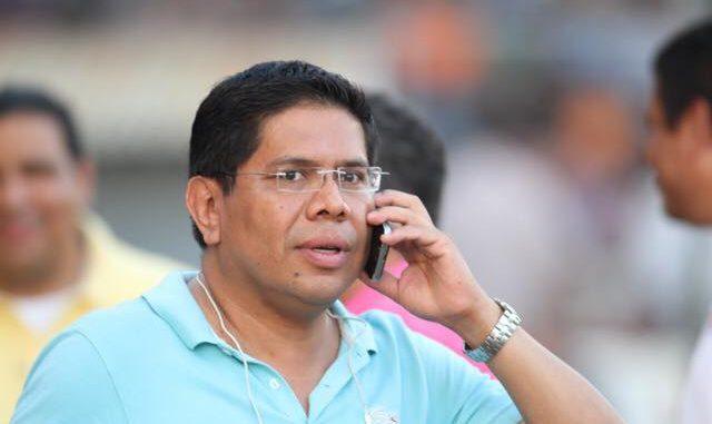 Cronista deportivo Miguel Mendoza. Foto: Radio Corporación.